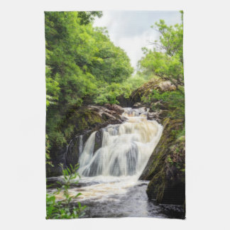 Ingleton Falls, Yorkshire tea towel