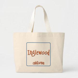 Inglewood California BlueBox Jumbo Tote Bag