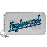 Inglewood in cyan travel speakers
