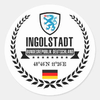 Ingolstadt Classic Round Sticker