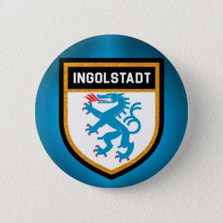 Ingolstadt Flag 6 Cm Round Badge