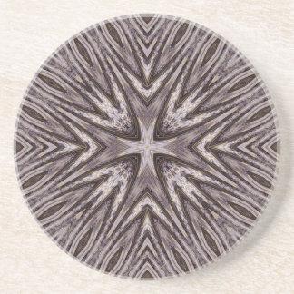 Ingrained Mandala Coaster