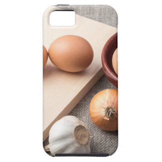 Ingredients for cooking in retro style iPhone 5 cover