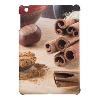 Ingredients for cooking in the kitchen iPad mini covers
