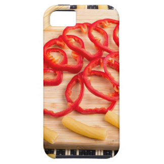 Ingredients for cooking on the kitchen table tough iPhone 5 case
