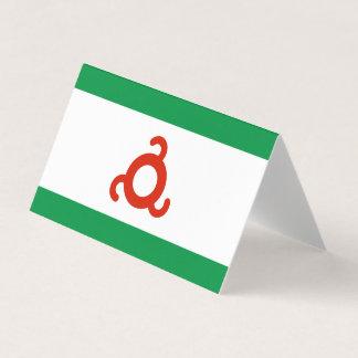 Ingushetia Flag Business Card