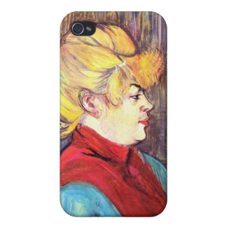 Inhabitant of the House of Joys - Toulouse-Lautrec iPhone 4/4S Cover