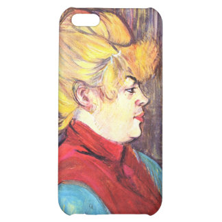 Inhabitant of the House of Joys - Toulouse-Lautrec Cover For iPhone 5C