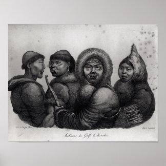 Inhabitants of the Gulf of Kotzebue Poster