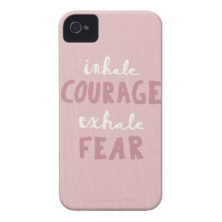 Inhale Courage Exhale Fear iPhone 4 Case