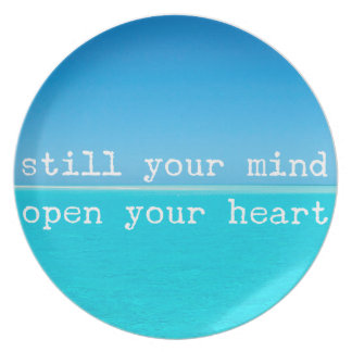 Inhale Exhale Relaxing Meditational Quote Plates