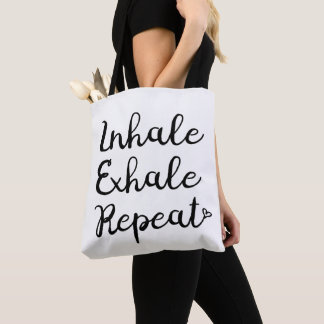 Inhale Exhale Repeat Bag