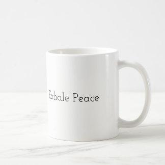 Inhale Love, Exhale Peace - Mug