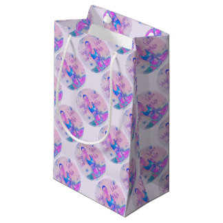 Inhale Love Gift Wrapping Series Small Gift Bag