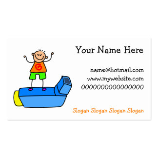 Inhaler Kid Business Card