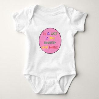 Inherited Great Parents Baby Bodysuit