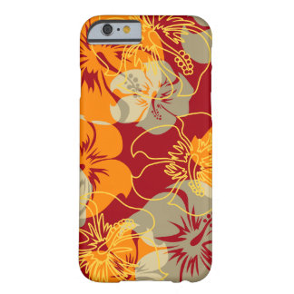 Iniki Point Hawaiian Hibiscus Floral Barely There iPhone 6 Case
