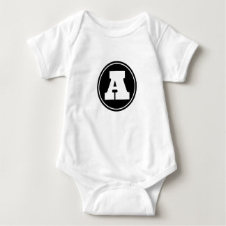 Initial A Baby Jersey Bodysuit