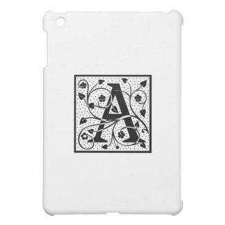 "initial ""A"" iPad Mini Case"