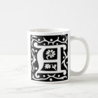 Initial A Coffee Mugs
