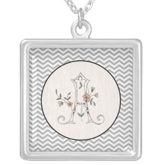 """Initial """"A"""" Necklace"""