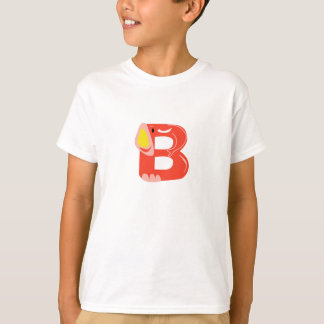 "initial ""B "" T-Shirt"