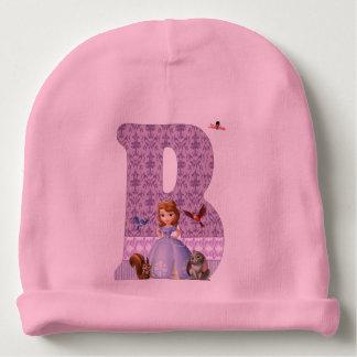 initial beret B Baby Beanie