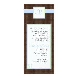 Initial Blue Invite