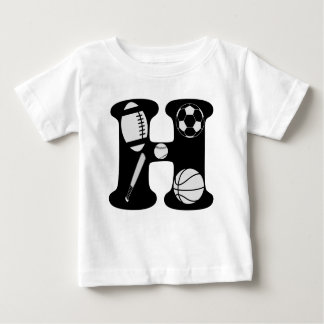 initial H Baby T-Shirt