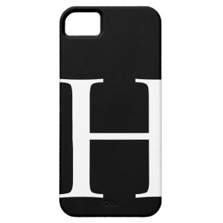 Initial H iPhone 5 Cover