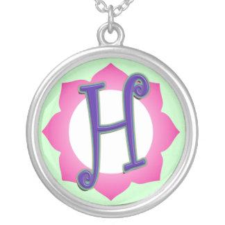 Initial H Pendant