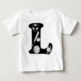 initial L Baby T-Shirt