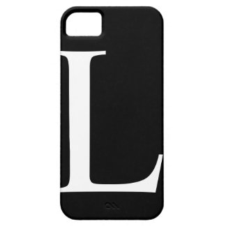 Initial L iPhone 5 Barely There Case