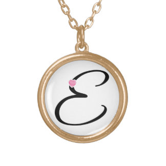 Initial Letter A Personalized Necklace