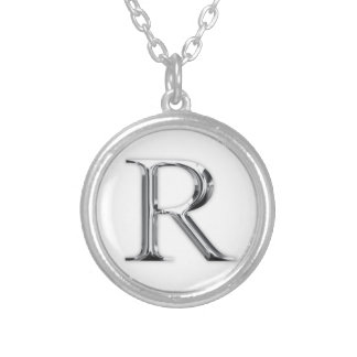Initial Letter Personalised Necklace