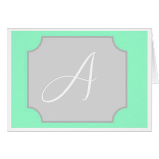 Initial Note Card