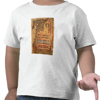 Initial page from the Lichfield Gospels, c.720 Tshirt