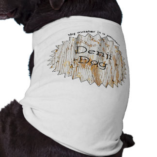 Initial: Peeling Paint  on Aged Wood  Photography Sleeveless Dog Shirt