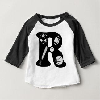 initial R Baby T-Shirt