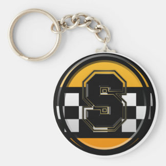 Initial S taxi driver Key Ring
