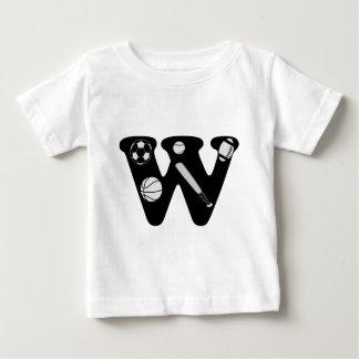 initial W Baby T-Shirt