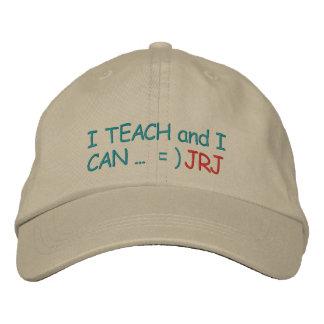 "Initial Your ""Teachers CAN"" Cap - SRF"