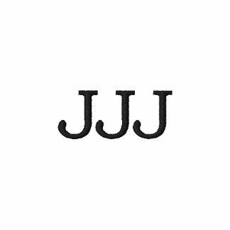 """Initials """"JJJ"""" Monogram"""