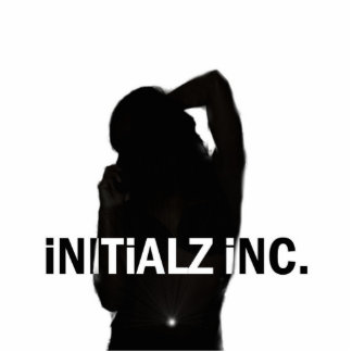 Initialz INC Logo Sculptor Standing Photo Sculpture