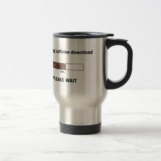 Initiating Caffeine Download Travel Mug