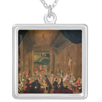 Initiation ceremony in a Viennese Masonic Custom Necklace