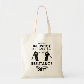 Injustice Tote Bag