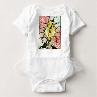 Ink and Pink Baby Bodysuit