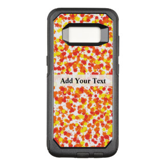 Ink Blotted Background by Shirley Taylor OtterBox Commuter Samsung Galaxy S8 Case
