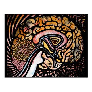 Ink Brain Postcard